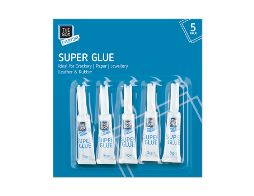 Super Glue - 5 Pack